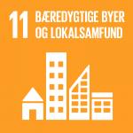 11. Bæredygtige byer og lokalsamfund