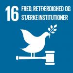 16. Fred, retfærdighed og stærke institutioner